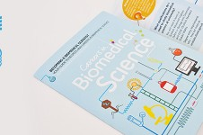 Science leaflet design